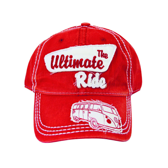 The Ultimate Ride Cap-Red - Cool VW Stuff  - 1