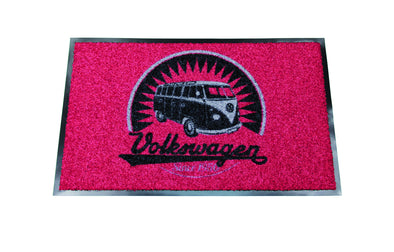 VW T1 Bus Doormat - Retro Volkswagen Logo