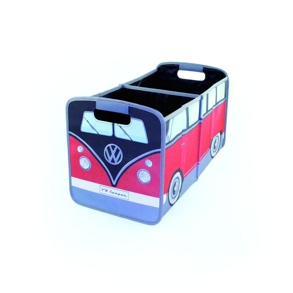 VW T1 Bus Foldable Storage Box -Red & Black - Cool VW Stuff  - 1