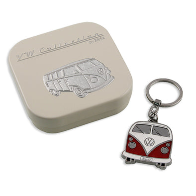 Key Ring-Red Bus