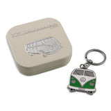 Key Ring-Green Bus