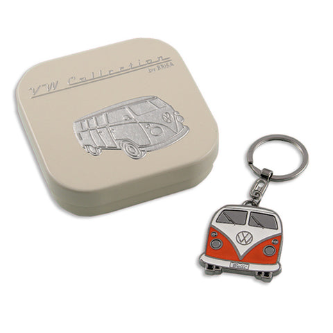 Key Ring-Orange Bus