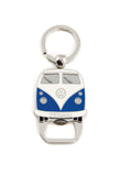 VW T1 Bus Key Ring with Bottle Opener - Blue Cool VW Stuff BUKH42