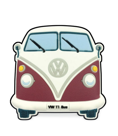 VW T1 Bus Magnet - Front End Red
