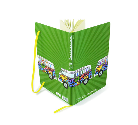 VW Bus Notebook-Flower Power