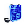 VW Bus Neoprene Tablet Bag-Blue