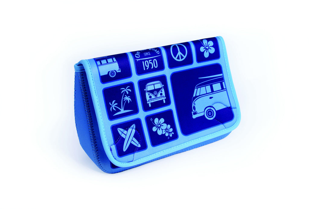 Neoprene Toiletry Bag-Blue