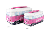 Volkswagen Bus Neoprene Universal Bag-Large Pink