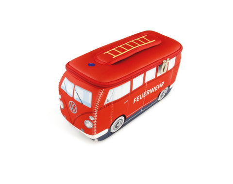 Volkswagen Bus Neoprene Universal Bag - Large Fire Engine
