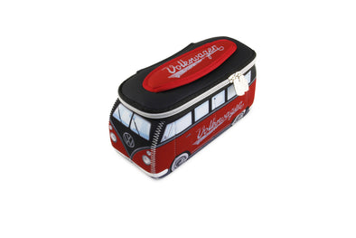 Volkswagen Bus Neoprene Universal Bag-Small Red & Black