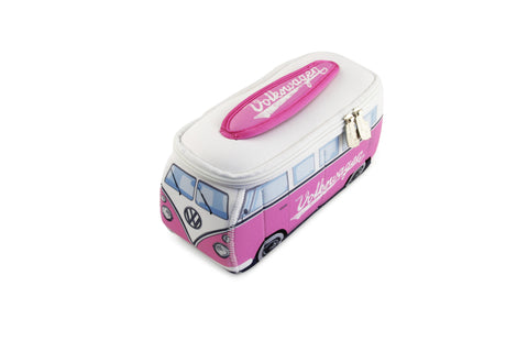 Volkswagen Bus Neoprene Universal Bag-Small Pink