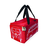 Volkswagen T1 Picnic Rug with Carrying Bag-Red - Cool VW Stuff  - 3