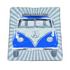 Volkswagen T1 Picnic Rug with Carrying Bag-Blue