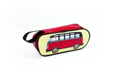 Pencil & Cosmetic Case-Classic Bus