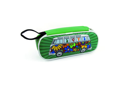 Pencil & Cosmetic Case-Love Bus