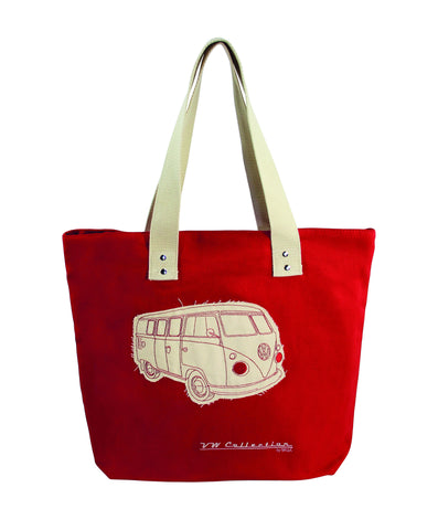 VW Volkswagen Bus Canvas Tote Shopping Bag Cool VW Stuff