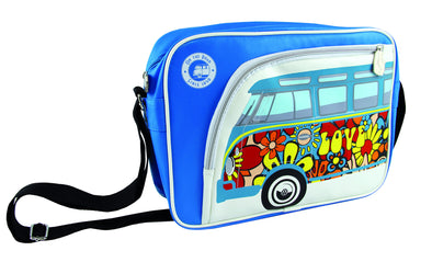 Camper Deluxe Shoulder Bag-Peace & Love