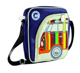 Volkswagen Camper Deluxe Cross-Body Tablet Bag-Striped Bus