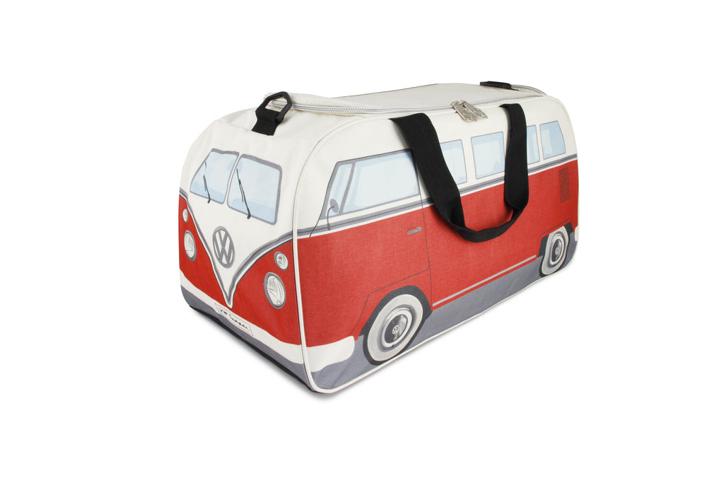 VW Bus Small Gym/Travel Bag-Red