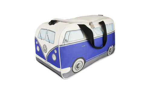 VW Bus Small Gym/Travel Bag-Blue