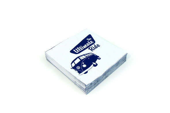 VW Bus Napkin Set Pack of 20-The Ultimate Ride