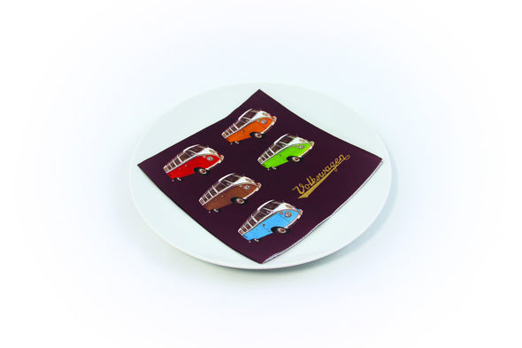 VW Bus Napkin Set Pack of 20-Split Window Busses