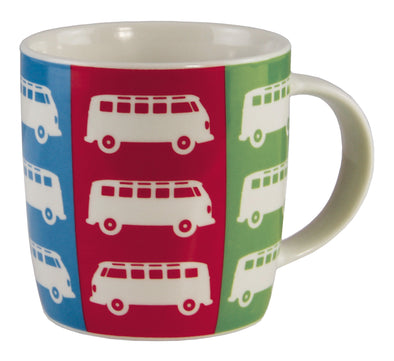 Coffee Mug- Bus - Stripes