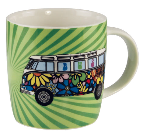 Coffee Mug-Flower Power