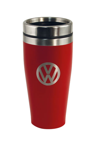 Volkswagen 13.5 oz Insulated Tumbler with VW Logo - Red
