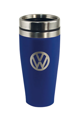 Volkswagen 13.5 oz Insulated Tumbler with VW Logo - Blue