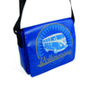 Officially Licensed Volkswagen Bus Tarpaulin Shoulder Bag-Blue