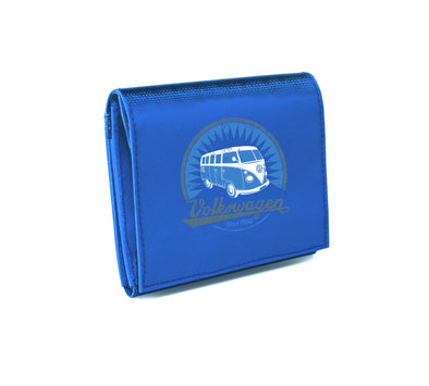 VW T1 Bus Tarpaulin Wallet - Blue - Cool VW Stuff  - 1