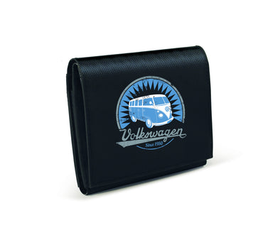 VW T1 Bus Tarpaulin Wallet - Black