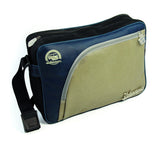 Officially Licensed Volkswagen Shoulder Bag with Tire Tread Edging-Blue