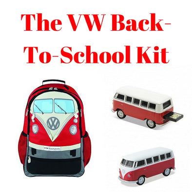 Red Back-To-School Gift Set - Large Backpack & 8GB USB Drive