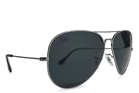 Shady Rays Aviator Elite - Blackout Polarized Sunglasses