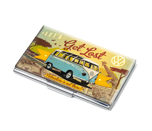 VW Business Card Case -Let's Get Lost - Cool VW Stuff  - 1