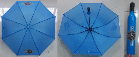 Cool VW Stuff Wine Bottle Umbrella-Blue - Cool VW Stuff  - 1