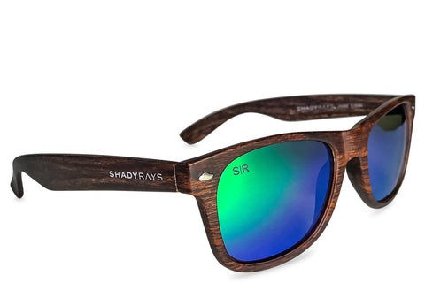Shady Rays Classic - Emerald Timber Polarized Sunglasses