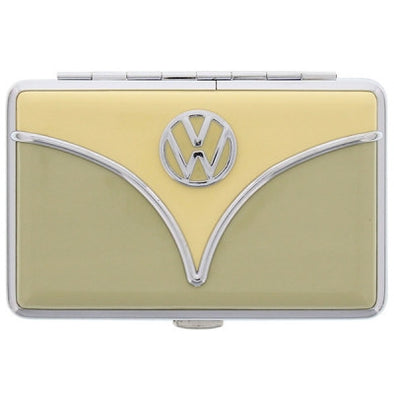 VW Bus Wallet/Business Card Holder-Avocado Green