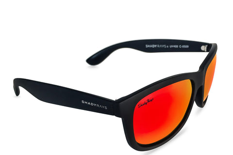 Shady Ray's Signature Series - Black Infrared Polarized Sunglasses