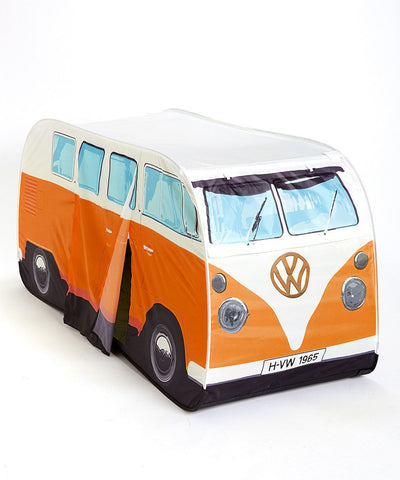Kid's VW Pop-Up Tent-Orange - Cool VW Stuff  - 1