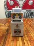 VW Bus Money Bank with Surfboard-Flower Power - Cool VW Stuff  - 6