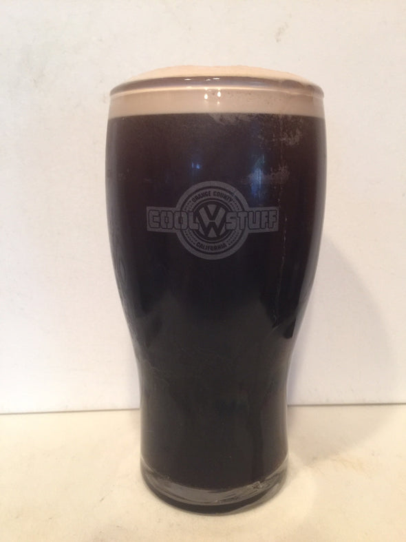 16 oz Cool VW Stuff Beer Glasses - Cool VW Stuff  - 2