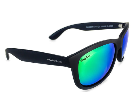 Shady Rays Signature Series - Black Lime Polarized Sunglasses