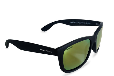 Shady Ray's Signature Series - Black Tank Polarized Sunglasses