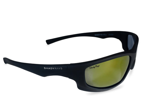 Shady Ray's X Series - Black Tank Polarized Sunglasses by Cool VW Stuff