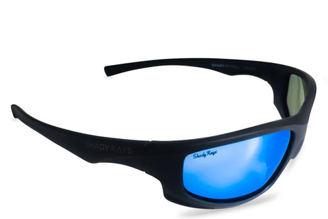 Shady Ray's X Series - Black Glacier Polarized Incognito Sunglasses by Cool VW Stuff