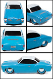 1966 Volkswagen Karmann Ghia Radio Control Vehicle 1:24 Scale - Blue - Cool VW Stuff  - 4