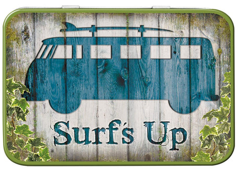 VW Camper Surf's Up Keepsake Tin - Cool VW Stuff  - 1